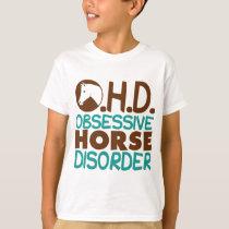 Funny Horse Kids T-Shirt