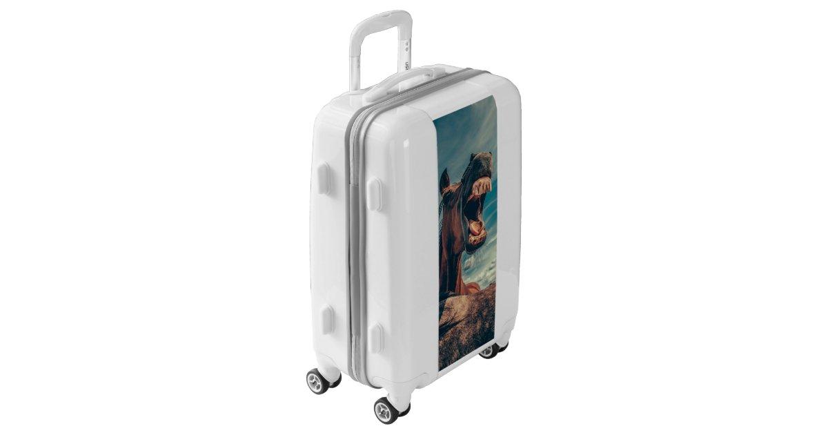Funny Horse Luggage Zazzle