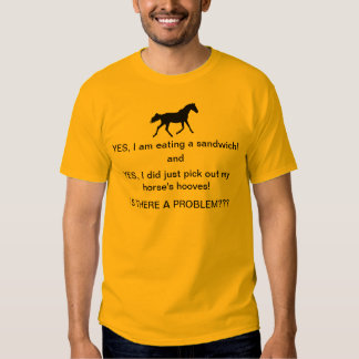 Funny Horse People T-Shirt