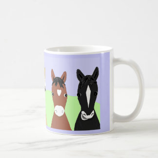 Funny horse posters, Bleached or palomino Coffee Mug