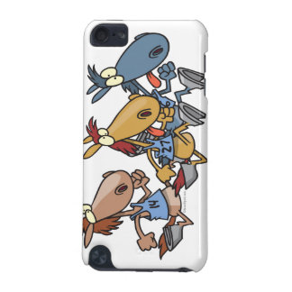 funny horse racing cartoon iPod touch 5G cases