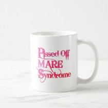 Funny, horse sayings - PMS Coffee Mug