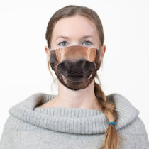 Funny Horse Snout Muzzle Pony Adult Cloth Face Mask