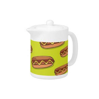 Funny Hot Dog Food Design