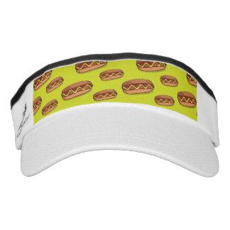 Funny Hot Dog Food Design Visor