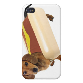 funny hot dog wiener dog i cases for iPhone 4