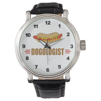 Funny Hot Dog Wrist Watch