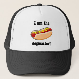 Funny hotdog trucker hat