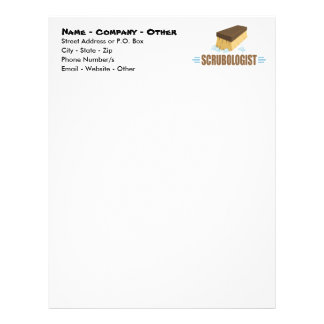 Funny House Keeping Letterhead Template