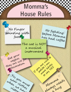 Funny House Rules Gifts On Zazzle