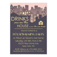 Funny Housewarming Party design Invitation