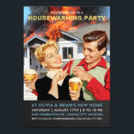 "Funny Housewarming Party Invitations | On Fire<br><div class=""desc"">Funny Housewarming Party Invitations 