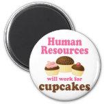 Funny Human Resources Fridge Magnet