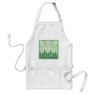 Funny Humboldt County Adult Apron
