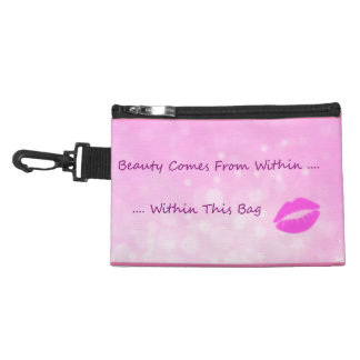 Funny Humor Cosmetics Beauty Within Accessories Bags