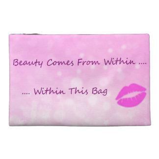 Funny Humor Cosmetics Beauty Within Travel Accessory Bag