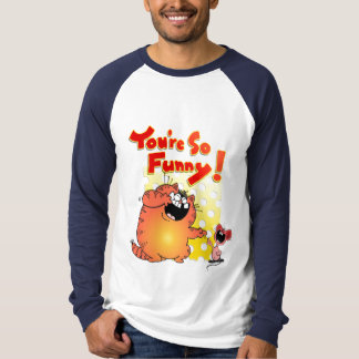 Funny Humorous Cat and Mouse \ Cat Humor T-Shirt