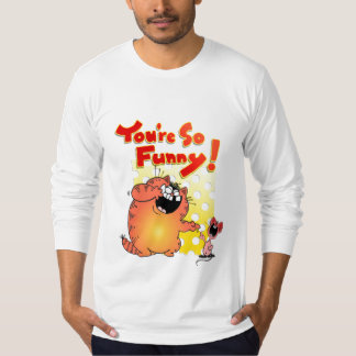 Funny Humorous Cat and Mouse \ Cat Humor T-shirts