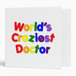 Funny Humorous Doctors : World's Craziest Doctor Vinyl Binders