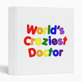 Funny Humorous Doctors : World's Craziest Doctor Binder