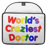 Funny Humorous Doctors : World's Craziest Doctor Sleeve For MacBooks