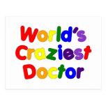 Funny Humorous Doctors : World's Craziest Doctor Post Cards