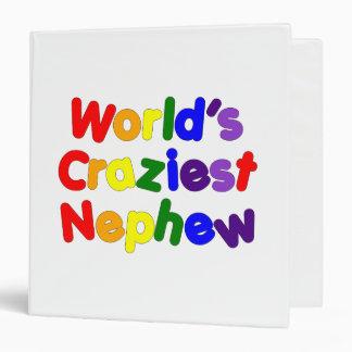 Funny Humorous Nephews : World's Craziest Nephew Binders