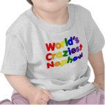 Funny Humorous Nephews : World's Craziest Nephew T-shirts