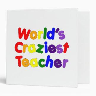 Funny Humorous Teachers : World's Craziest Teacher Binder