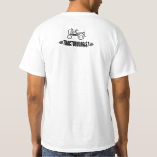 Funny Humorous Tractor Tractorologist Racing T-Shirt