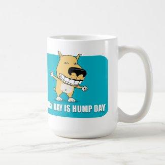 Funny Hump Day Dog coffee mug