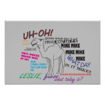 Funny Hump Day Print