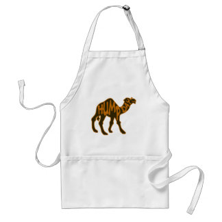 Funny Hump Day with Camel Adult Apron