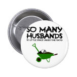 Funny husband buttons