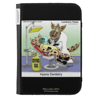 Funny Hyena Dentistry Kindle Cover