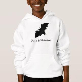 Funny i am batty kids hoodie