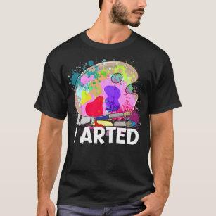 Eat Sleep Paint T-Shirt Gift Present painters artists