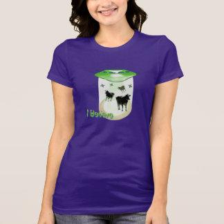 Funny I Believe U.F.O. Aliens Abducting Cows T-Shirt