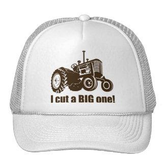 Funny I Cut A Big One Trucker Hat