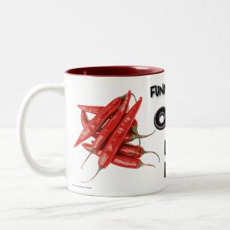 Funny, I Didn't See Your Opinion Two-Tone Coffee Mug