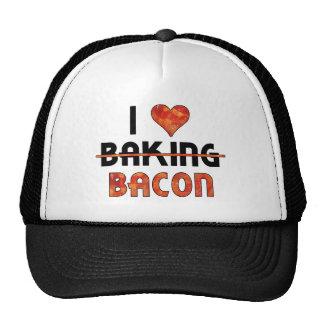 Funny I Don t Love Baking I Love Bacon Trucker Hats