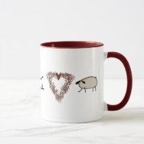 Funny I Heart Ewe Mug