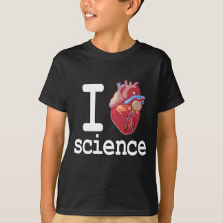 Funny - I Heart Science T-Shirt