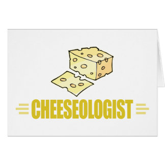 Funny I Love Cheese Card