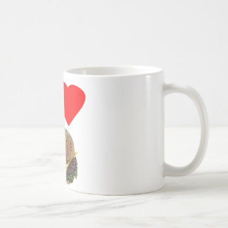 Funny I Love Cheeseburgers Coffee Mug