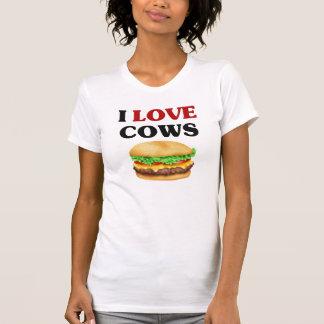 Funny I Love Cows T-Shirt