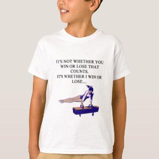 funny i love gymastics design for gymnasts T-Shirt