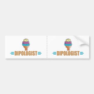 Funny I Love Ice Cream Bumper Sticker