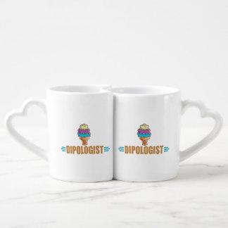Funny I Love Ice Cream Coffee Mug Set