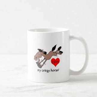 Funny I love my crazy horse Coffee Mug